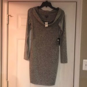 NWT Express S On or Off Shoulder sweater dress!!!